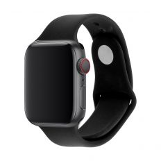 3SIXT Silicone Band - Apple Watch 42/44mm - Black