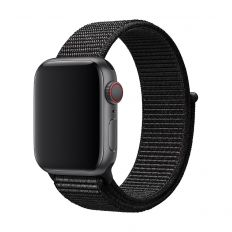 3SIXT Nylon Weave Band - Apple Watch 42/44mm - Black