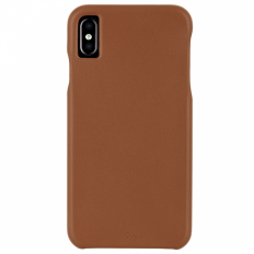 Casemate for iPhone XS Barely There Leather - Butterscotch