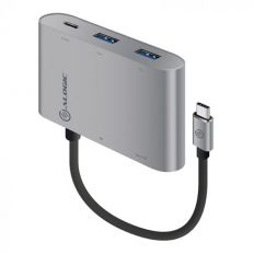 ALOGIC USB-C MultiPort Adapter with Card Reader/2 x USB 3.0/USB-C with 60w Power Delivery