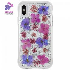 Casemate for iPhone XS Max  Karat Petals - Purple