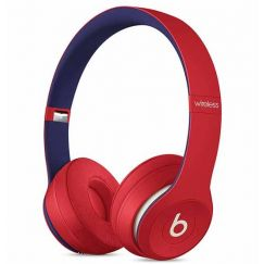 Beats Solo3 Wireless Headphones – Beats Club Collection – Club Red